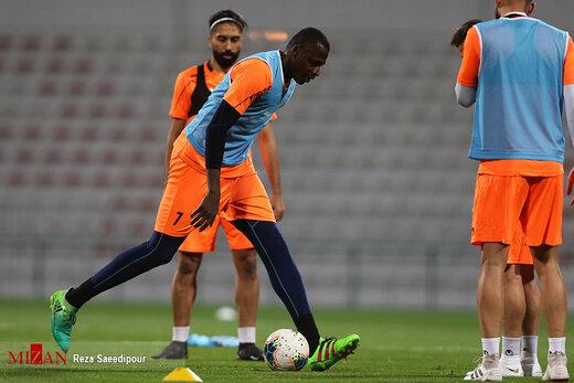 آخرین تمرین تیم استقلال پیش از بازی با الکویت