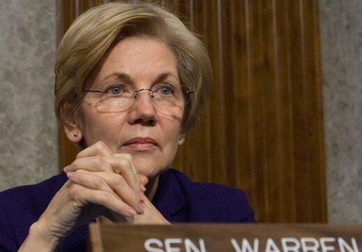 درخواست وارن از آمریکا درباره ایران