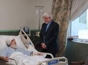 عیادت عارف از نماینده ولی فقیه در بنیاد شهید و امور ایثارگران +عکس