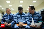 تصاویر | متهمان ارزی پای میز محاکمه