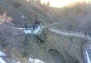 سقوط خودروی سمند به دره دو کشته برجا گذاشت