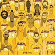 ستارگان فوتبال دنیا همه با پیراهن شماره 24