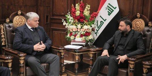 العکبی از مراحل اجرای مصوبه اخراج آمریکایی ها از عراق خبر داد