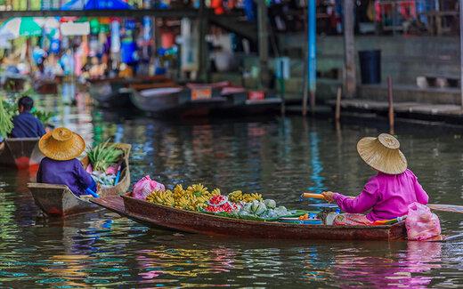 بازارهای شناور بانکوک، جاذبه های گردشگری تکرار نشدنی!