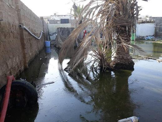 اقدامات عمرانی شهرداری تهران در سیل ایرانشهر