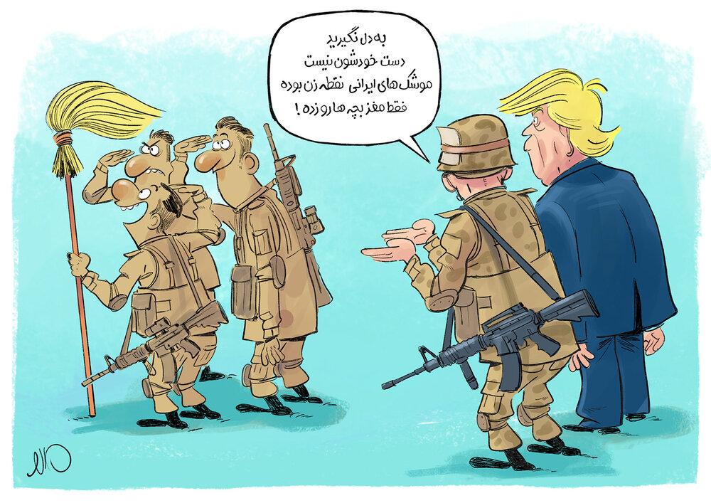 بلائی که موشکهای نقطهزن ایرانی بر سر سربازان آمریکایی آورد!