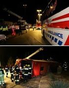۹ کشته و ۱۸ مصدوم در واژگونی اتوبوس محور اصفهان به شیراز