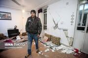 تصاویر | خسارات زلزله ۵.۴ ریشتری در خانه زنیان استان فارس