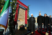 افتتاح فاز دوم تصفیهخانه هفتم آب تهران با حضور رئیسجمهور