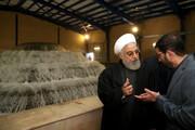 فیلم و عکس | راهاندازی تصفیه خانه جدید برای تهران با حضور رئیس جمهور