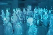 ببینید | تصویر اسکن حرارتی بدن مسافران در فرودگاه اندونزی