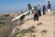 سقوط یک پهپاد نظامی در ملاثانی خوزستان +عکس