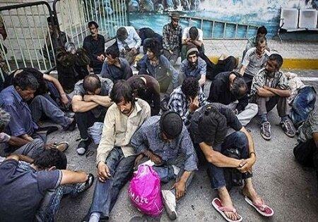 قرنطینه معتادان مشکوک به کرونا در مراکز بازپروری