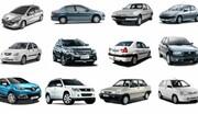 آخرین قیمت خودروهای داخلی در بازار تهران / جدول