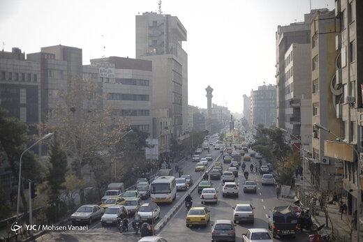 هوای تهران در ۹ بهمن ماه؛ ناسالم برای گروههای حساس