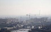هوای مشهد در برخی نقاط آلوده است