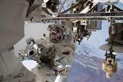 تصاویر | خروج از ایستگاه فضایی با پای پیاده