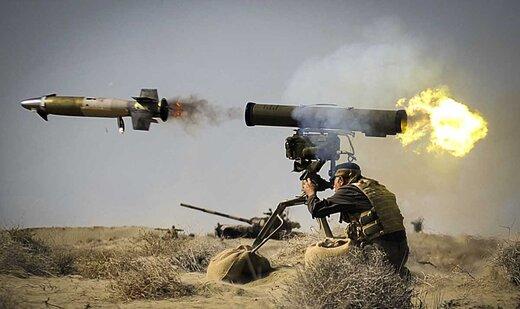 این موشک ایرانی، نابودگر تانکهای مرکاوا و آبرامز است +تصاویر
