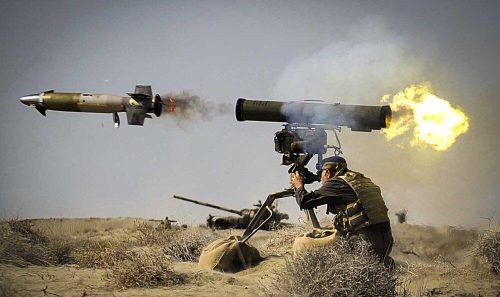 موشک ضد زره دهلاویه؛ نابودگر تانکهای مرکاوا و آبرامز + تصاویر