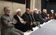 ببینید | حسین شریعتمداری در آخرین شب سوگواری فاطمیه در حسینیه بیت رهبری