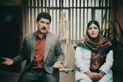گریم متفاوت باران کوثری و امیرحسین رستمی در فیلمی کمدی / عکس