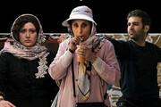 فیلم   بازی باران کوثری با گویش اصفهانی