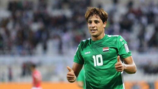 ستاره فوتبال عراق راهی اروپا شد