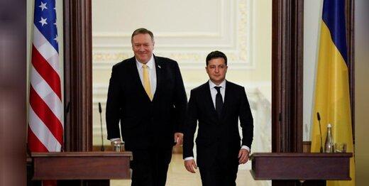 پامپئو در کییف: تعهد ما به اوکراین ناگسستنی است