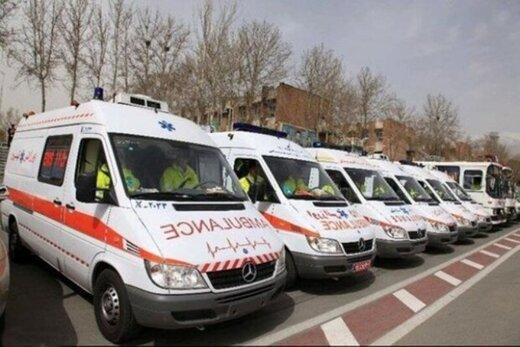 واژگونی مینیبوس در ماسال/ ۱۵ نفر مصدوم شدند