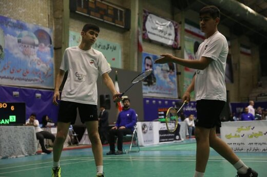 حضور دو بدمینتون باز سیستان و بلوچستان در رقابتهای بین المللی دهه فجر