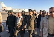 حضور وزیر دفاع در مناطق سیلزده سیستان و بلوچستان