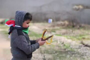 ببینید | کودک فلسطینی که نماد مقاومت ضد معامله قرن شد