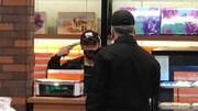 ببینید | تصاویری از گروگانگیری در شیرینی فروشی خیابان آزادی
