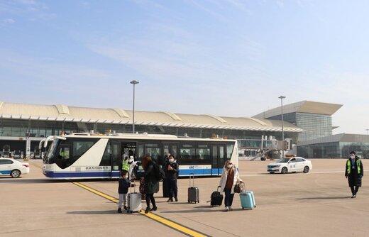 هواپیمای حامل شهروندان ترکیه از ووهان چین