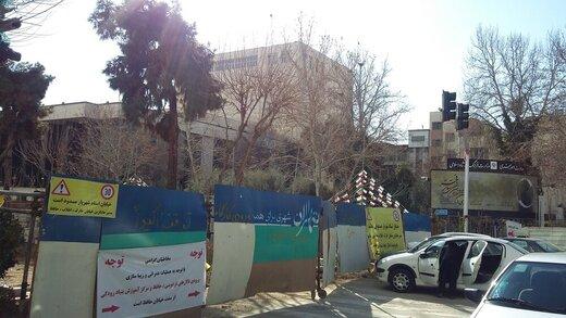 تصاویری از وضعیت نابسامان خیابان شهریار در تهران