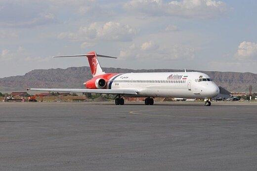 فرود اضطراری ۲ پرواز به مقصد تهران در فرودگاه یزد