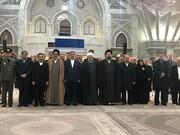 تجدید میثاق رییس جمهوری و اعضای هیات دولت با آرمانهای امام راحل