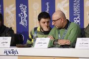 عکس | جواد عزتی در آتلیه جشنواره فیلم فجر