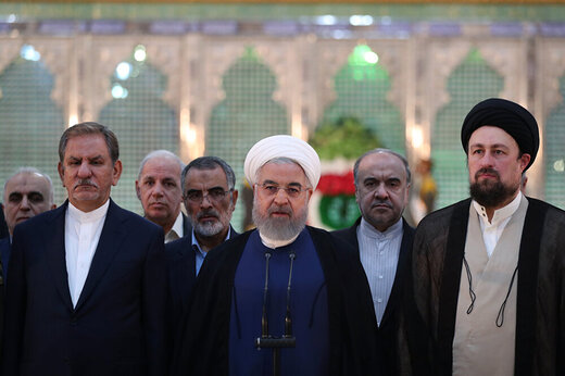 روحانی: دلسرد کردن مردم از انتخابات از مشی امام فاصله دارد
