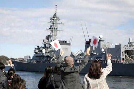 ناوشکن ژاپنی راهی دریای عمان شد