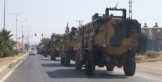 ترکیه یک کاروان نظامی جدید به سوریه اعزم کرد