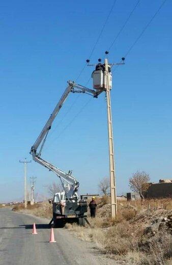 اجرای طرح بهینه سازی شبکه فشارمتوسط روستای یونس آباد شهرستان شاهرود