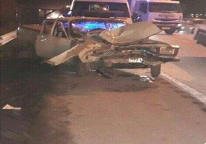 حادثه رانندگی در قزوین دو کشته به جا گذاشت