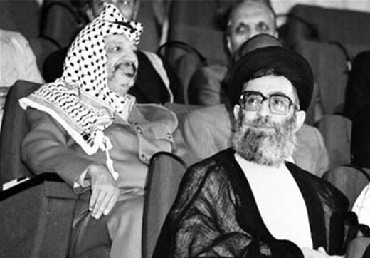 بازخوانی هشدار تاریخی آیتالله خامنهای به یاسر عرفات
