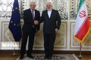 Zarif, Borrell review Iran nuclear deal