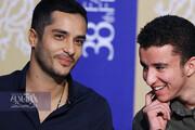 تصاویر | شوخی های ساعد سهیلی با هنرپیشه جوان فیلم روز صفر