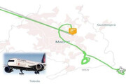 ببینید | فرود اضطراری بدنبال نقص فنی هواپیمای کانادایی