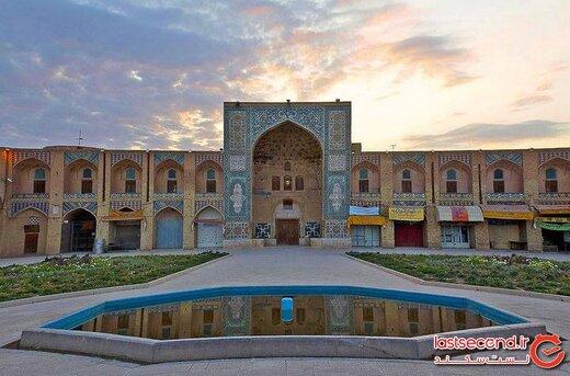 گنجی در قلب کویر ایران، از یادگارهای صفویه! + تصاویر