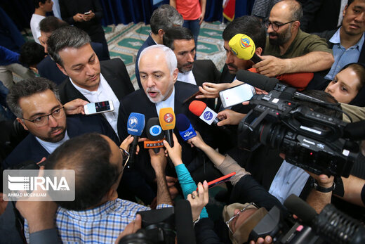 "Zarif: Massive election turnout to make Trump forget ""maximum pressure"" policy"