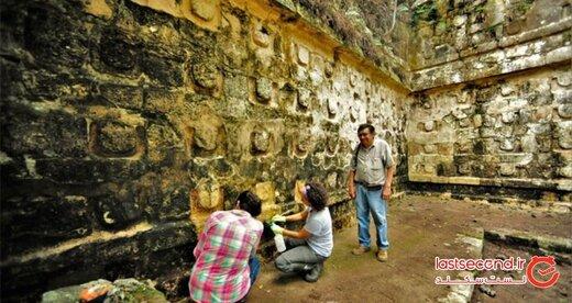 راز کاخی عجیب و باستانی که در دل جنگل پنهان شده، کشف شد! +تصاویر